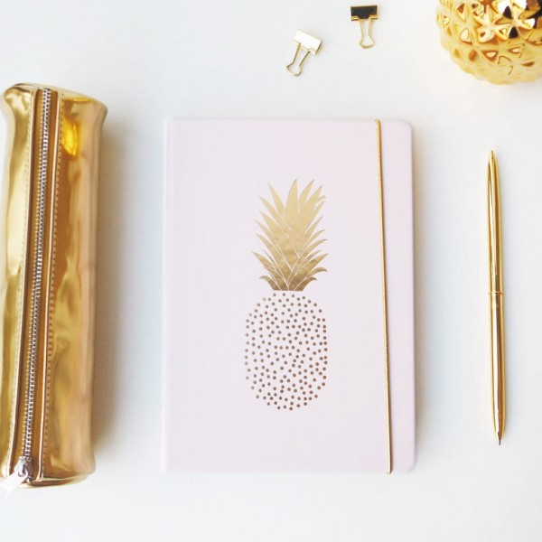 "Sticky Notes Book ""Pineapple"""
