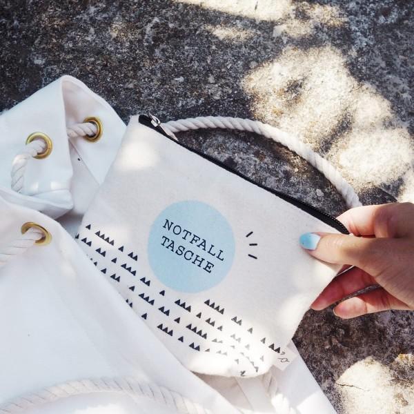 Notfalltasche aus Baumwolle
