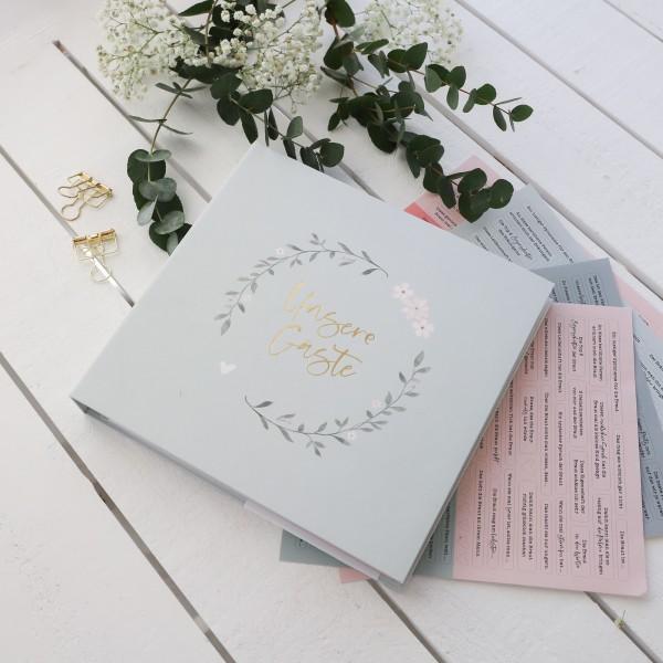 """Hochzeits-Gästebuch """"Unsere Gäste"""""""