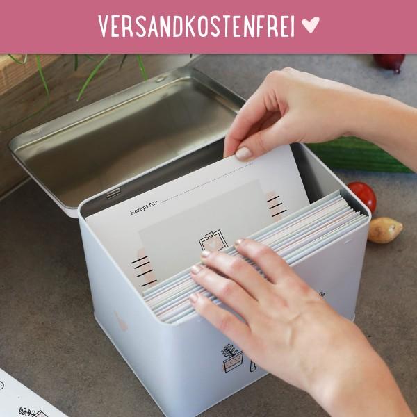 Rezeptebox mit Ausfüllkarten