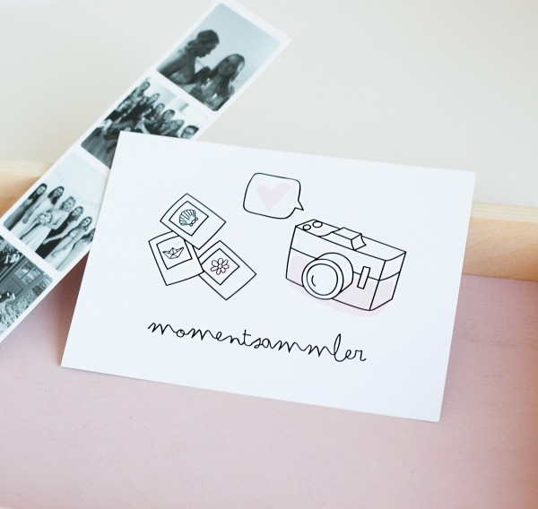 "Postkarte ""Momentsammler"""
