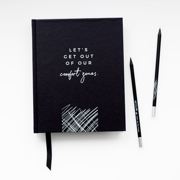 "Daily Planner ""Let`s get out of our comfort zones"""