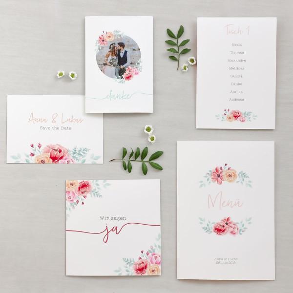 cheap for discount 4f17b 3bf64 Musterset Hochzeitskarten