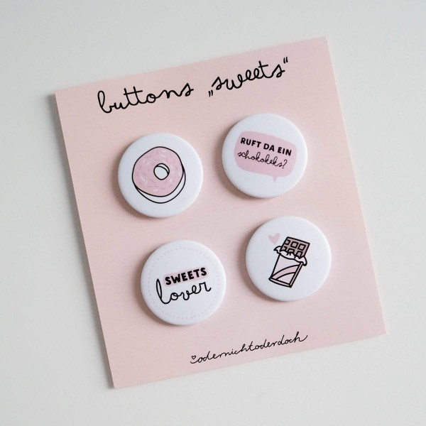 "Buttons ""Sweets"""