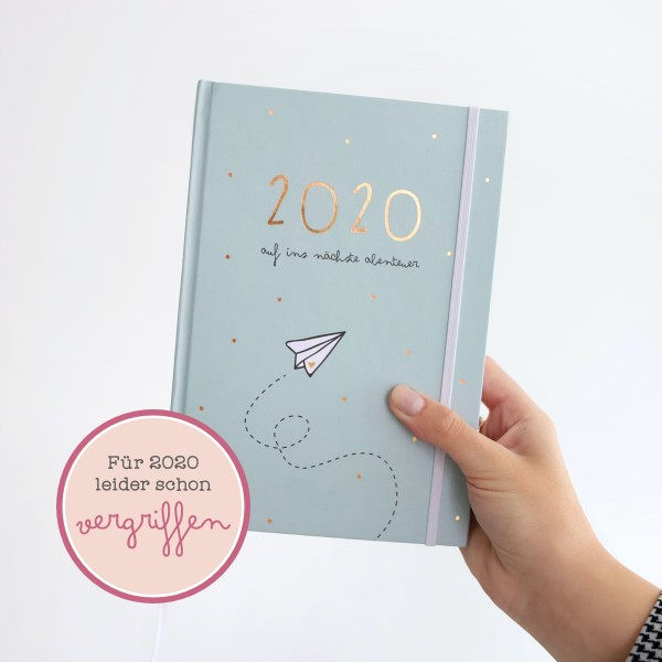 """Kalender A5 """"Auf ins nächste Abenteuer 2020"""""""