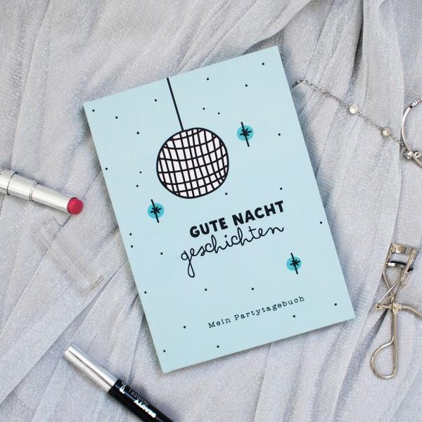 """Partytagebuch """"Gute Nacht Geschichten"""""""