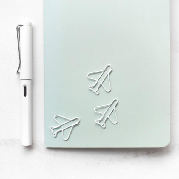 "Paperclips ""Flugzeug"" im 3er-Set"