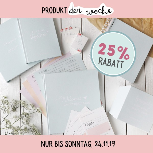"Wedding Planner mint ""Komm, wir heiraten!"""