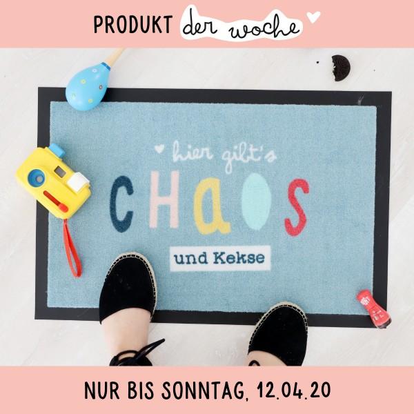 """Fußmatte """"Chaos und Kekse"""""""