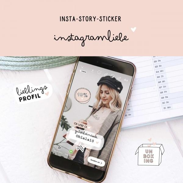 "Insta-Story-Sticker ""Instagramliebe"""