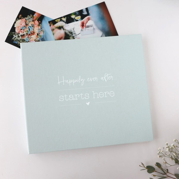 "Fotoalbum ""happily ever after starts here"""