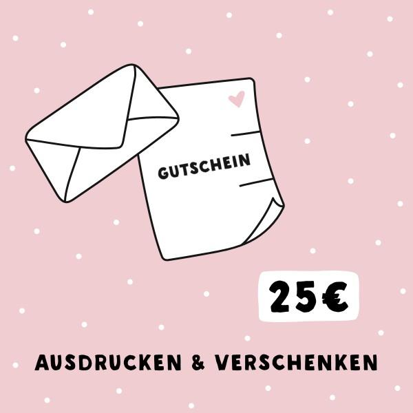 Geschenkgutschein (25 EUR) - odernichtoderdoch