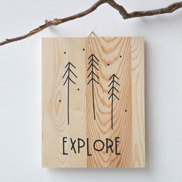 """Holzprint """"Explore"""""""
