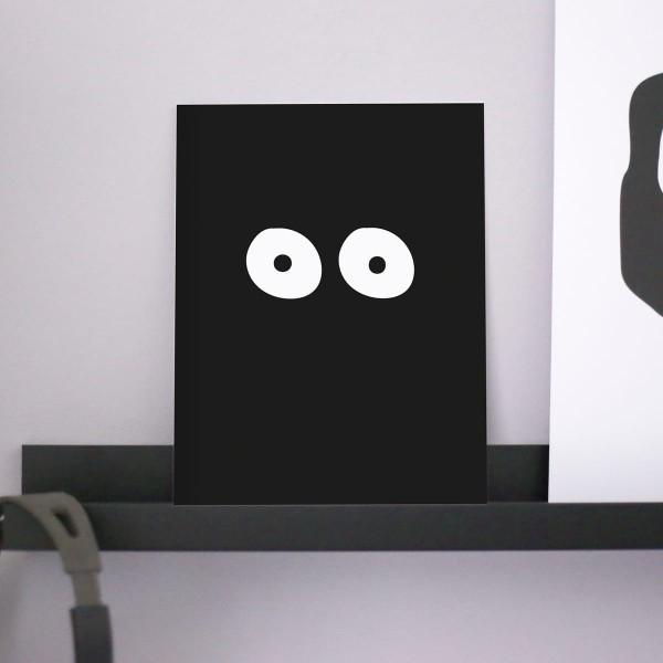 """Poster A4 """"Augen"""""""