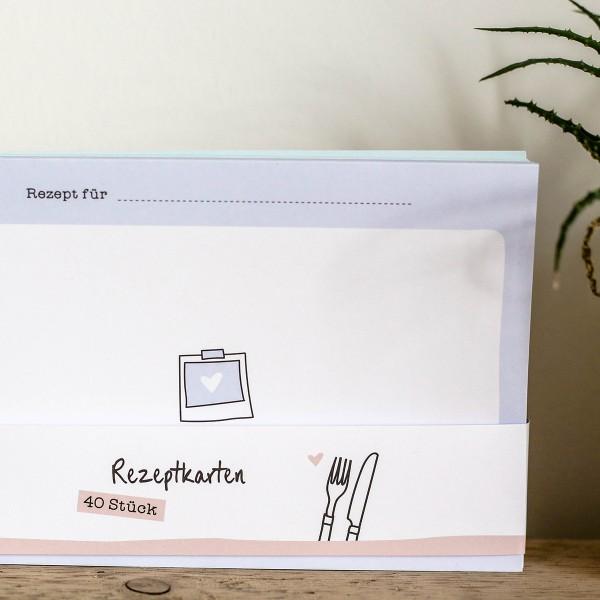 Rezeptkarten zum Nachfüllen
